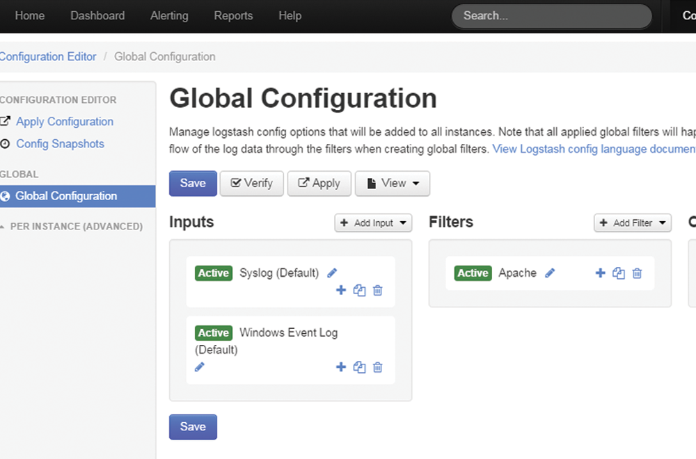 Log Security Events and System Events With Nagios Log Server